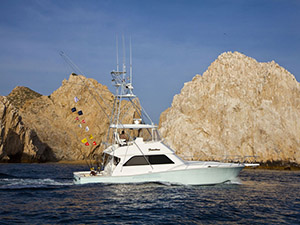 Viking Yacht - Cabo San Lucas Marlin fishing