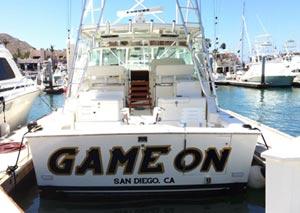 Game On - Cabo San Lucas Marlin fishing