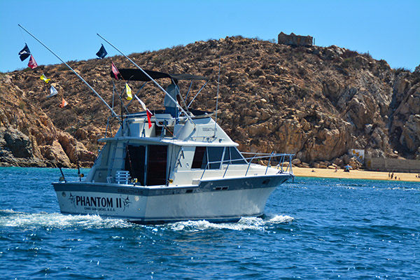 Phantom II - Cabo San Lucas Marlin fishing